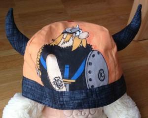 czapka wikinga